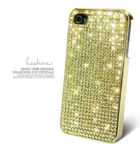 Купить Накладка Dreamplus Eileen Lovely 2 (Swarovski Cut Crystals) для Apple iPhone 4/4S(+ пленка) за 999 грн