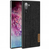 Накладка G-Case Textiles Dark series для Samsung Galaxy Note 10