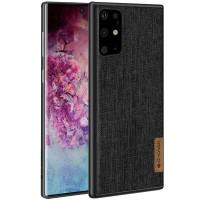 Накладка G-Case Textiles Dark series для Samsung Galaxy S20+