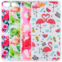 "Накладка Glue Case Фламинго для Apple iPhone 8 plus (5.5"")"