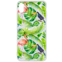 "Накладка Glue Case Фламінго для для Apple iPhone XS Max (6.5"")"