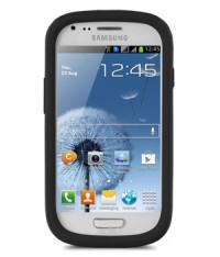 Чехол Melkco Kubalt для Samsung i8190 Galaxy S3 mini (+ пленка) Черный / Черный на itsell.ua