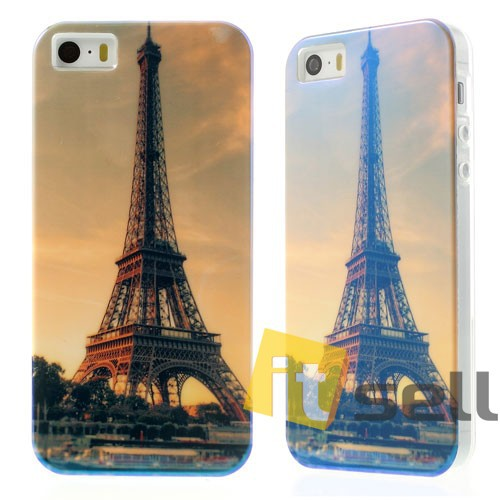 Купить TPU чехол IMD Print 'Eiffel Tower' для Apple iPhone 5/5S/SE за 159 грн