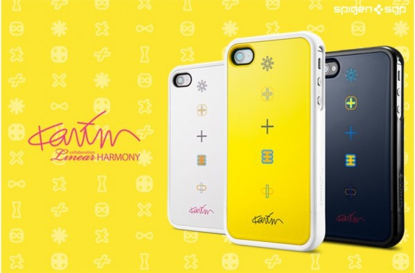 Купить Чехол SGP Linear Collaboration Karim Rashid [Harmony] для iPhone 4/4S за 286 грн