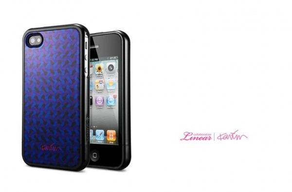 Чехол SGP Linear Collaboration Karim Rashid [Karma] для iPhone 4/4S черный на itsell.ua