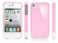 Фото Чехол SGP Linear Mini Series для iPhone 4/4S розовый на itsell.ua