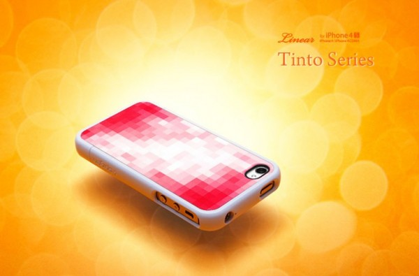 Чехол SGP Linear Tinto Series для iPhone 4/4S Красный / Tinto red на itsell.ua