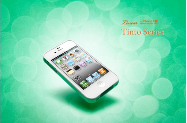 Чехол SGP Linear Tinto Series для iPhone 4/4S Зеленый / Tinto green в магазине itsell.ua