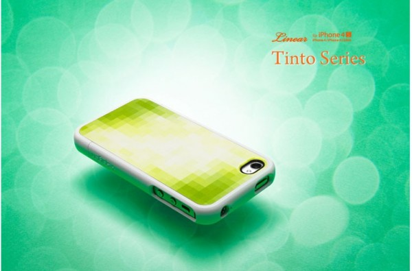 Чехол SGP Linear Tinto Series для iPhone 4/4S Зеленый / Tinto green на itsell.ua