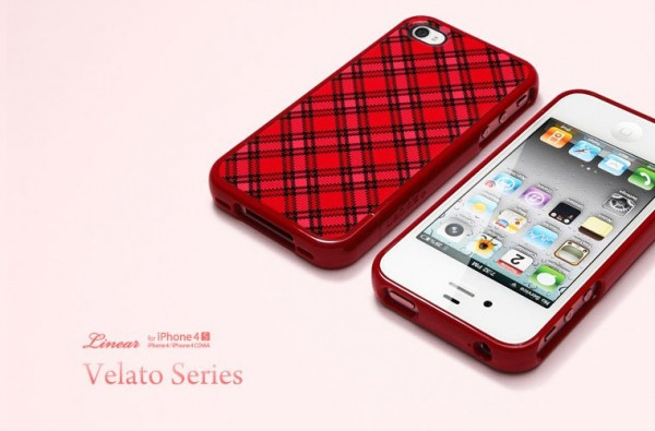 Фото Чехол SGP Linear Velato Series для iPhone 4/4S Красный / Velato Red на itsell.ua