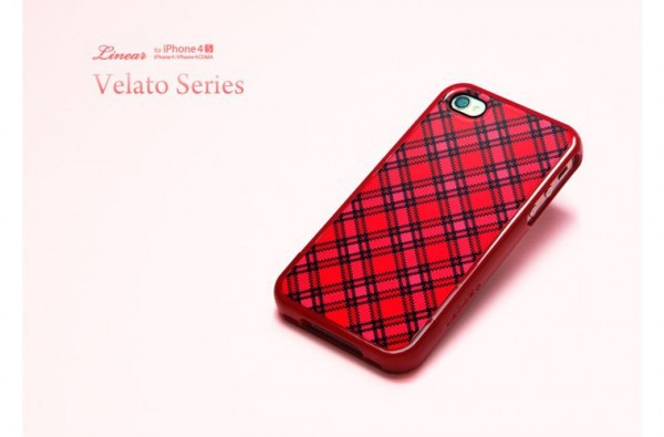 Фото Чехол SGP Linear Velato Series для iPhone 4/4S Красный / Velato Red в магазине itsell.ua