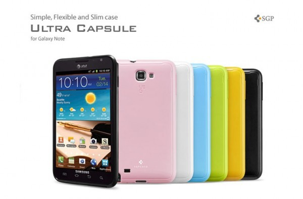 Купить Накладка SGP Case Ultra Capsule для Samsung Galaxy Note N7000 за 335 грн