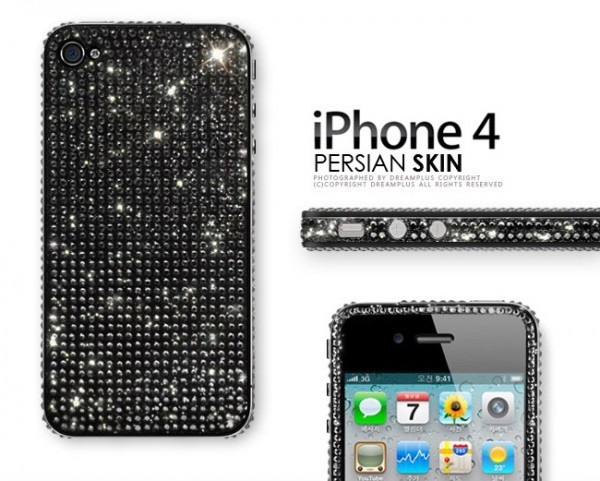 Фото Наклейка Dreamplus Persian Skin Series для Apple iPhone 4S черный на itsell.ua