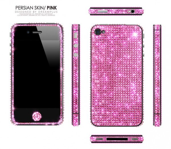 Фото Наклейка Dreamplus Persian Skin Series для Apple iPhone 4S розовый в магазине itsell.ua