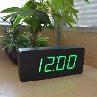 Настольные, деревянные, цифровые часы FiBiSonic