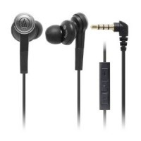 Фото Наушники Audio-Technica ATH-CKS55BK Solid Bass series Черный на itsell.ua