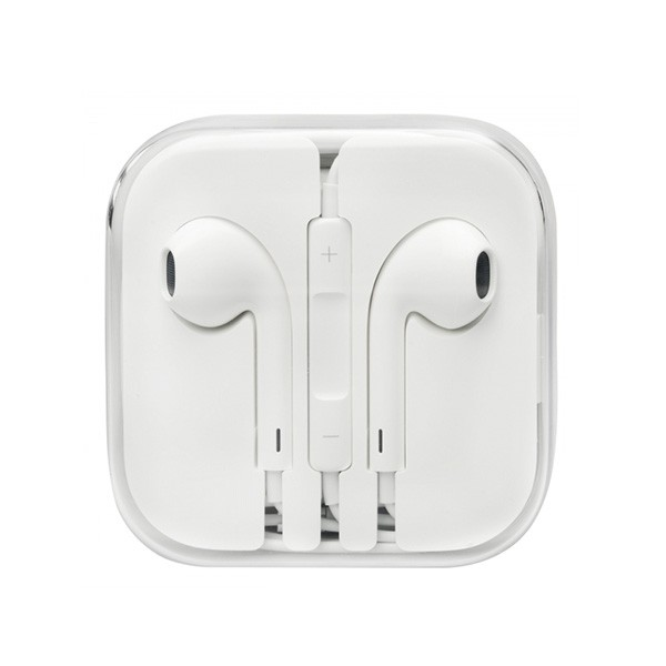 Купить Наушники Apple EarPods с пультом дистанционного управления и микрофоном (high copy) (1 цвет) за 219 грн