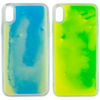 "Неоновый чехол Neon Sand glow in the dark для Apple iPhone X / XS (5.8"")"