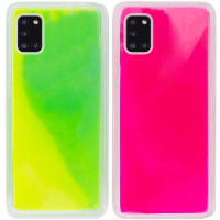 Неоновый чехол Neon Sand glow in the dark для Samsung Galaxy A31