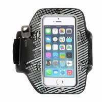 Купить Неопреновый спортивный чехол на руку с подсветкой для Apple iPhone 5/5S/SE, Epik