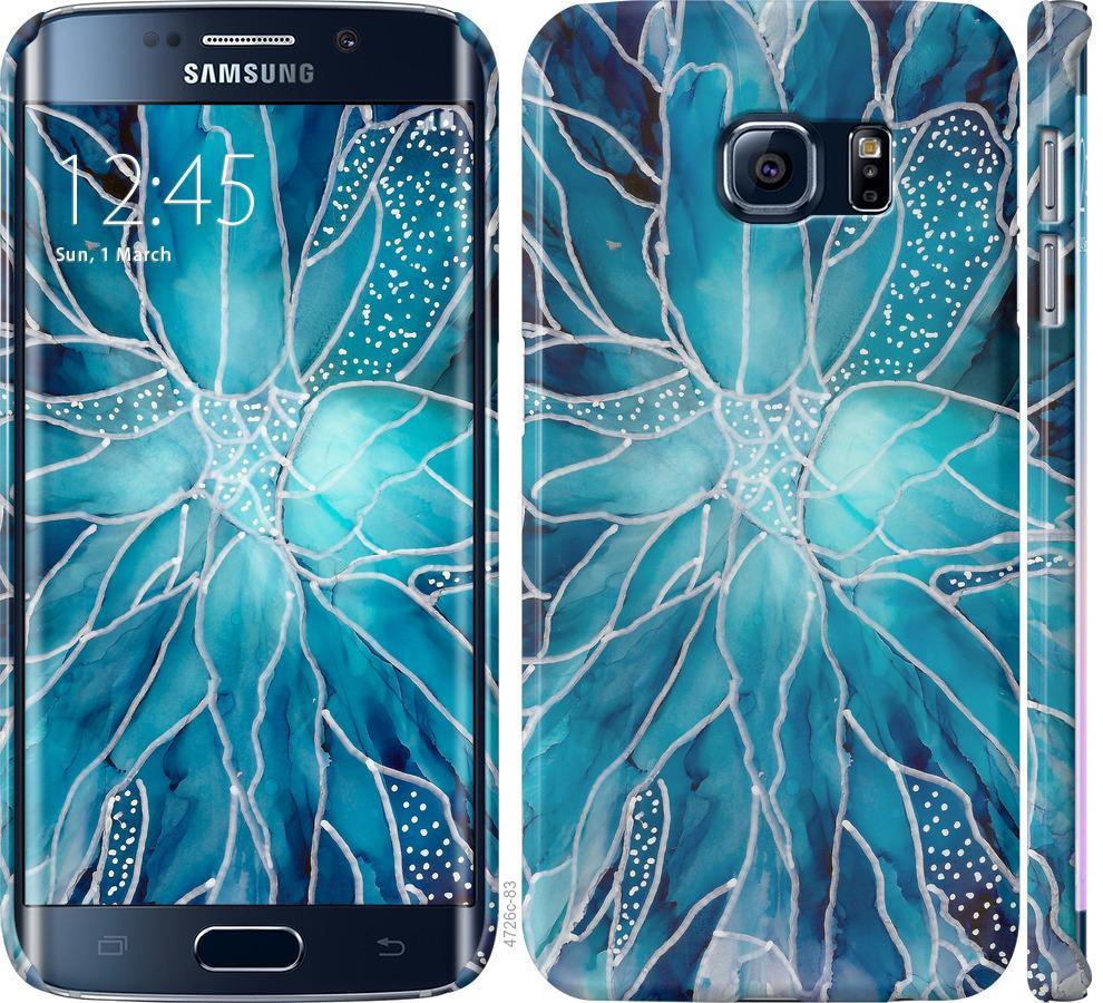 Чехол на Samsung Galaxy S6 Edge G925F чернило