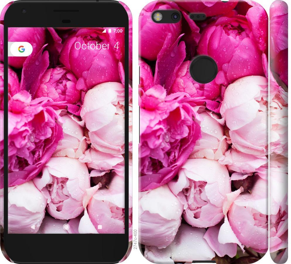 Чехол на Google Pixel Розовые пионы