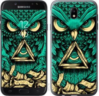 Чехол на Samsung Galaxy J7 J730 (2017) Сова Арт-тату