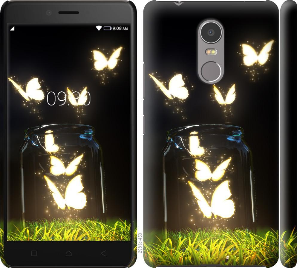 Чехол на Lenovo K6 Note Бабочки