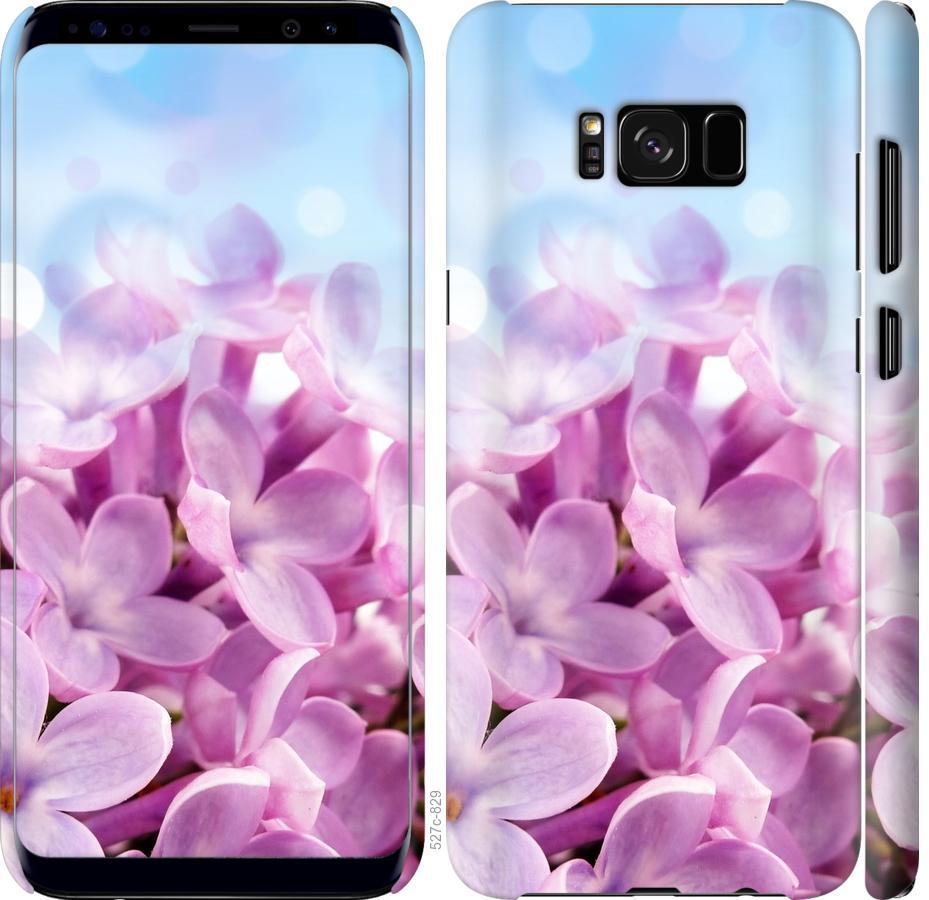 Чехол на Samsung Galaxy S8 Сирень