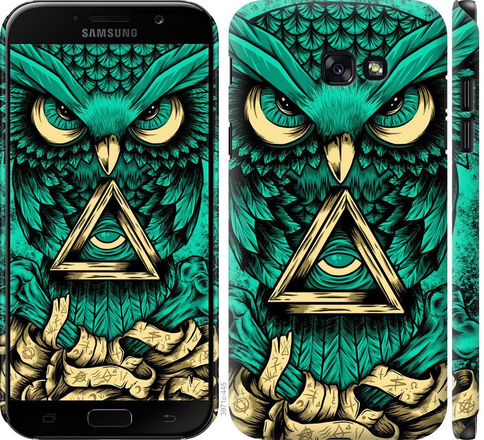 Чехол на Samsung Galaxy A7 (2017) Сова Арт-тату