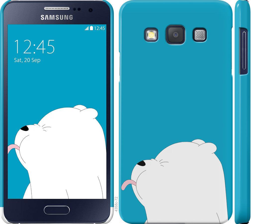 Чехол на Samsung Galaxy A3 A300H Мишка 1