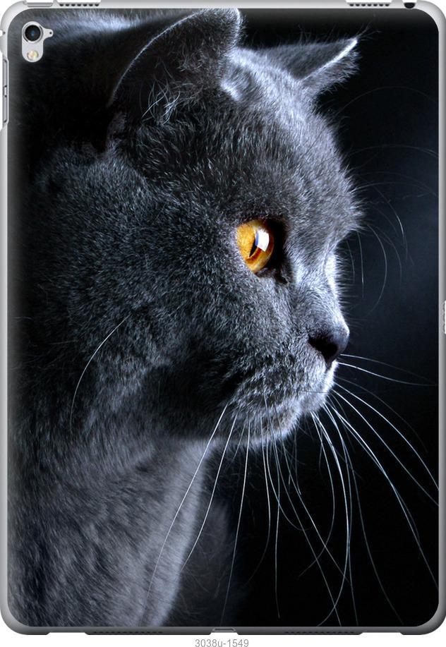 Чехол на iPad Pro 12.9 2017 Красивый кот