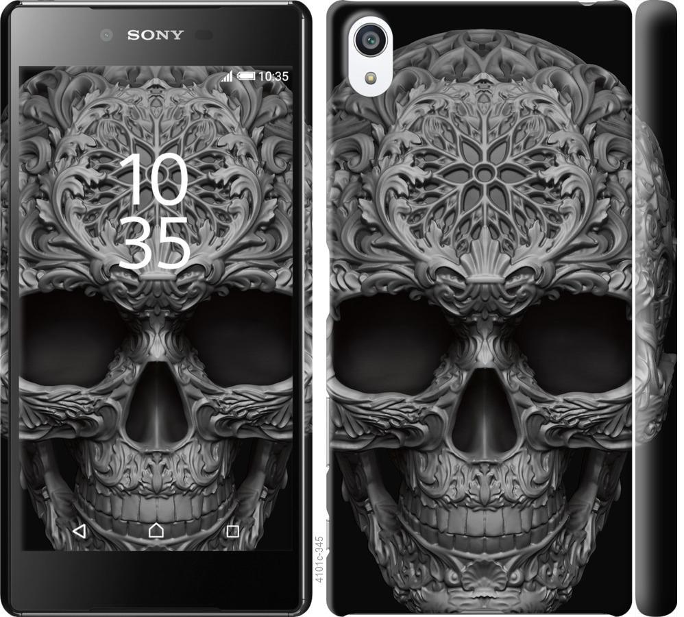 Чехол на Sony Xperia Z5 Premium E6883 skull-ornament