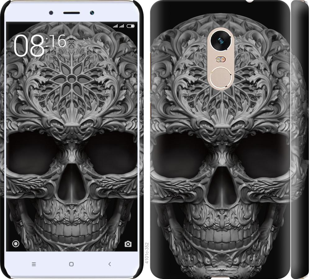 Чехол на Xiaomi Redmi Note 4 skull-ornament
