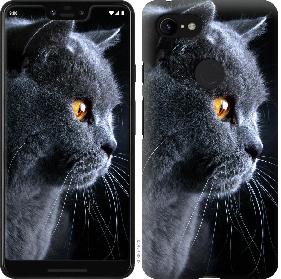 Чехол на Google Pixel 3 XL Красивый кот
