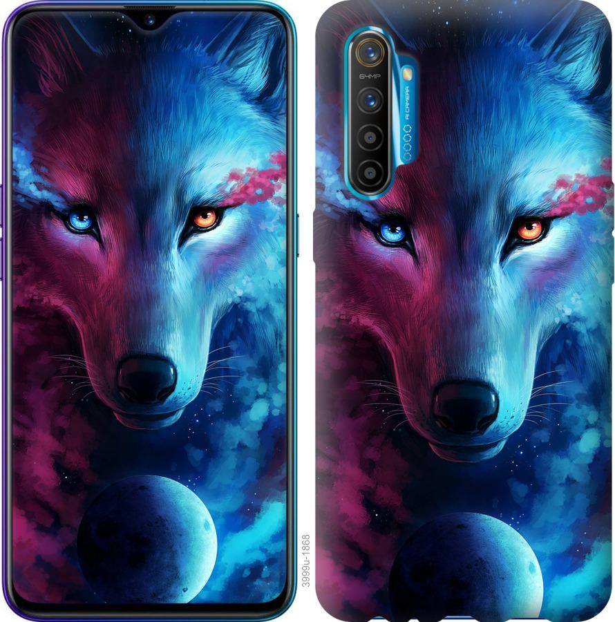 Чехол на Realme XT Арт-волк