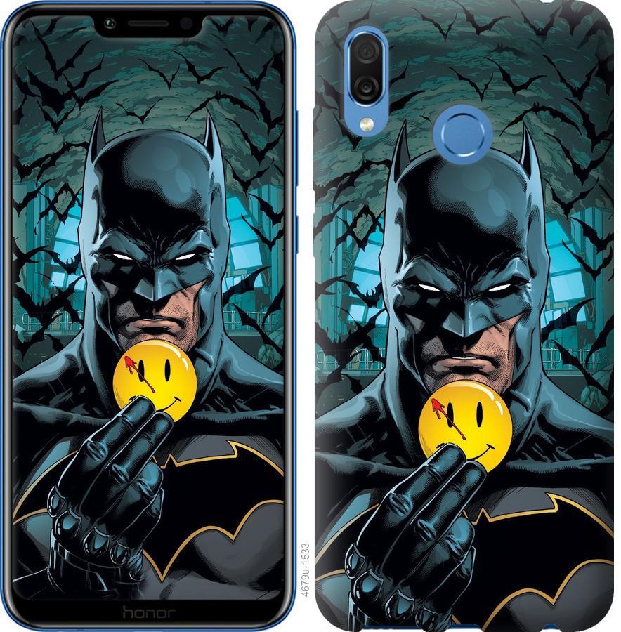 Чехол на Huawei Honor Play Бэтмен 2