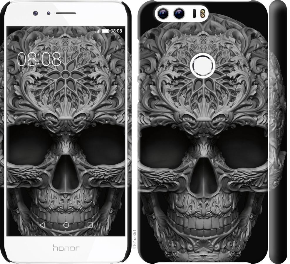 Чехол на Huawei Honor 8 skull-ornament