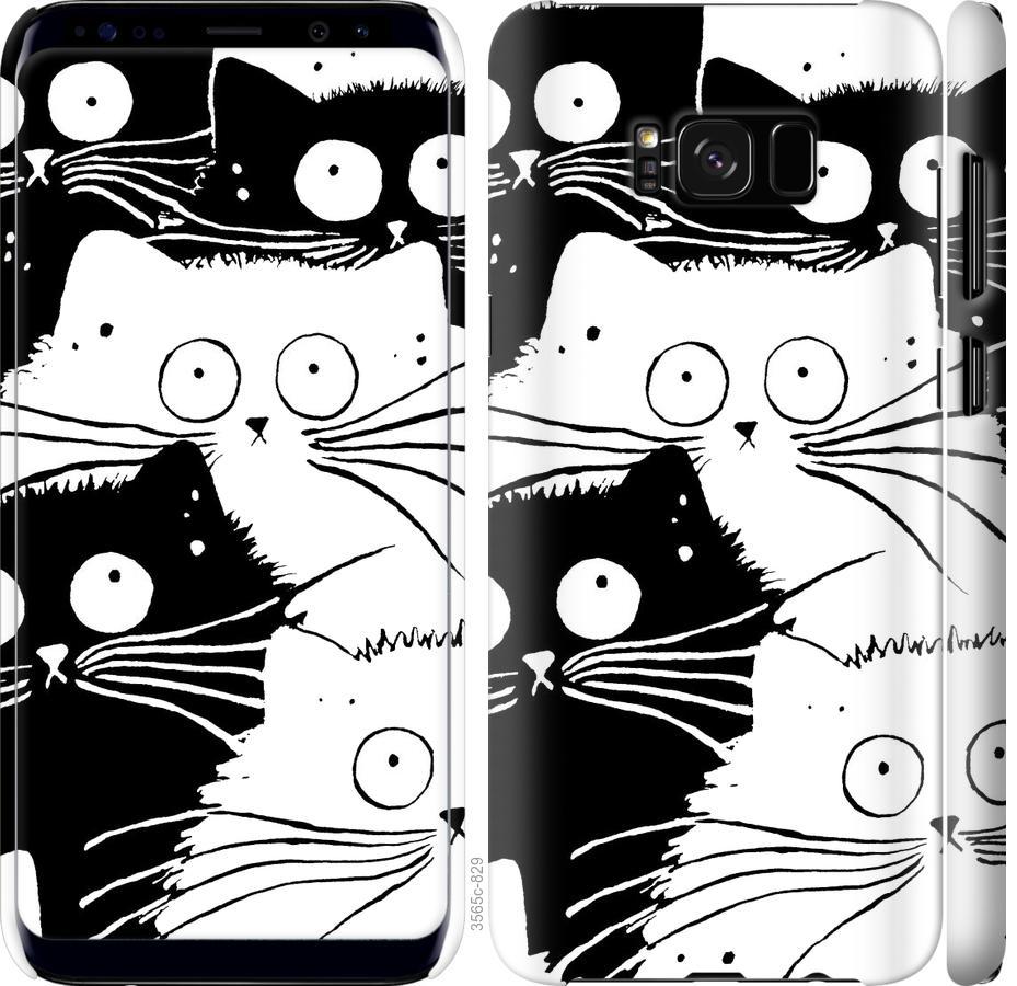 Чехол на Samsung Galaxy S8 Коты v2