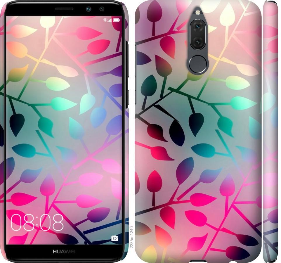 Чехол на Huawei Honor 9i Листья