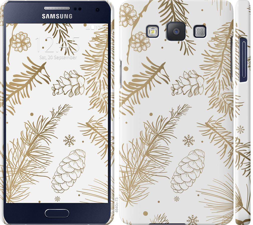Чехол на Samsung Galaxy A5 A500H Зимний