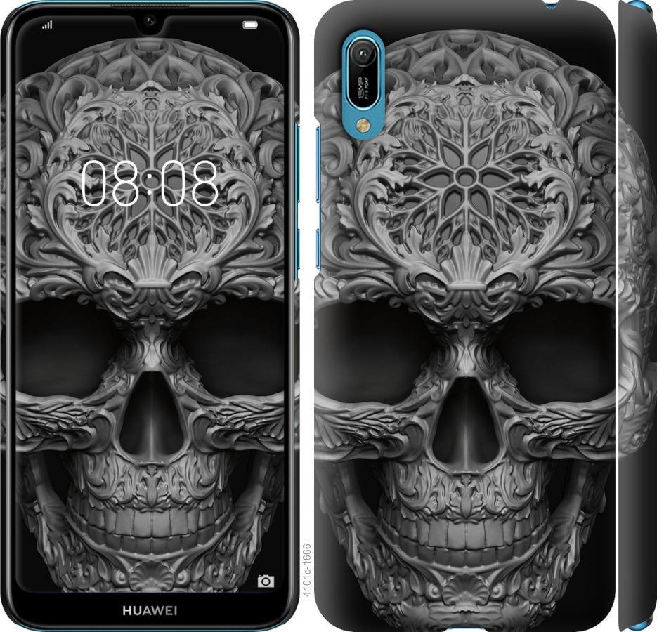 Чехол на Huawei Y6 2019 skull-ornament