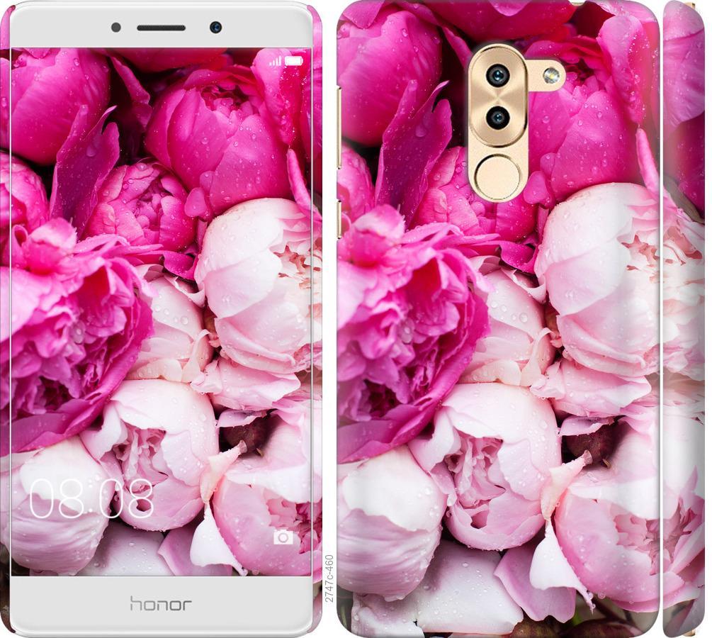 Чехол на Huawei GR5 2017 Розовые пионы