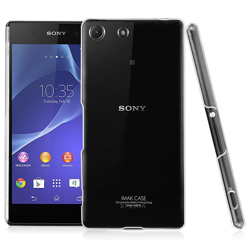 Пластиковая накладка IMAK Wearable Crystal Series для Sony Xperia M5 / Xperia M5 Dual