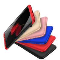 Пластиковая накладка GKK LikGus 360 градусов для Xiaomi Redmi Note 4X / Note 4 (Snapdragon)