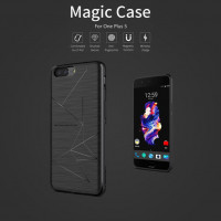 TPU чехол Nillkin Magic с модулем приема от беспроводного ЗУ для OnePlus 5