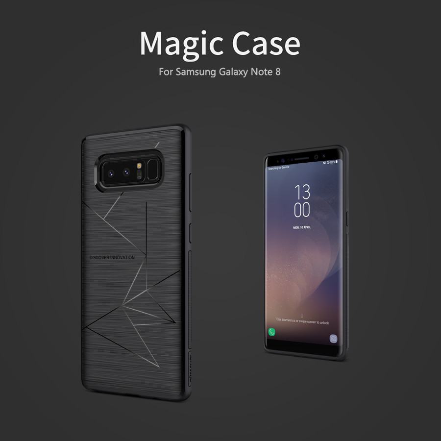 TPU чехол Nillkin Magic для Samsung Galaxy Note 8 (с магнитным модулем для автодержателя) (1 цвет)