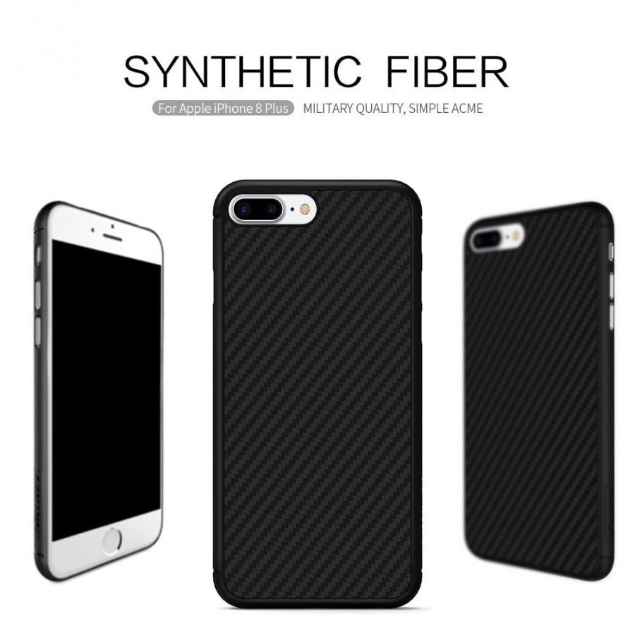 Пластиковая накладка Nillkin Synthetic Fiber series для Apple iPhone 8 plus (5.5