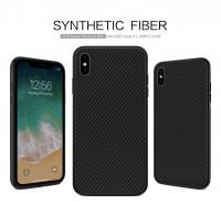 "Карбоновая накладка Nillkin Synthetic Fiber series для Apple iPhone XS Max (6.5"")"