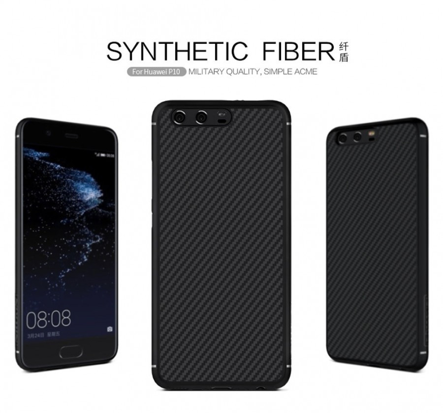 Карбоновая накладка Nillkin Synthetic Fiber series для Huawei P10 Plus